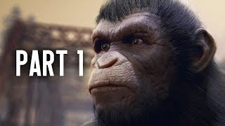Planet of the Apes Last Frontier Gameplay Walkthrough Part 1- Prologue