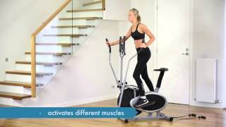 PowerTrain Home Gym Elliptical Cross Trainer