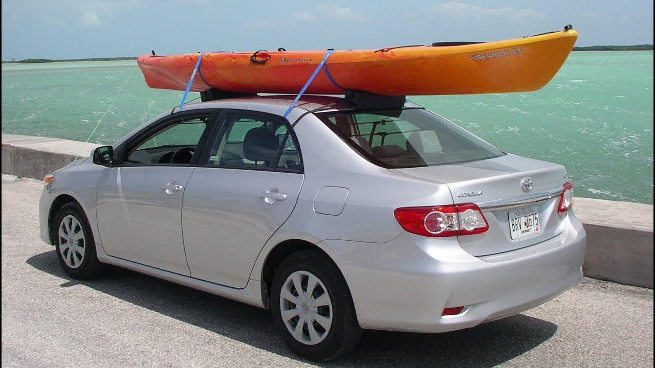 Rental or Small Car Kayak Transport Challenge