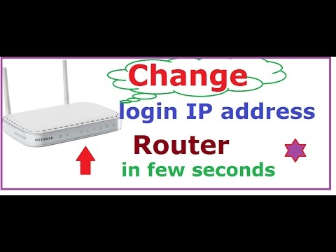 how to change ip address on netgear router in few seconds