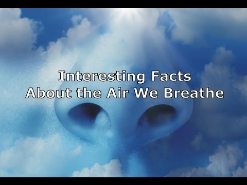 Interesting Facts About the Air We Breathe