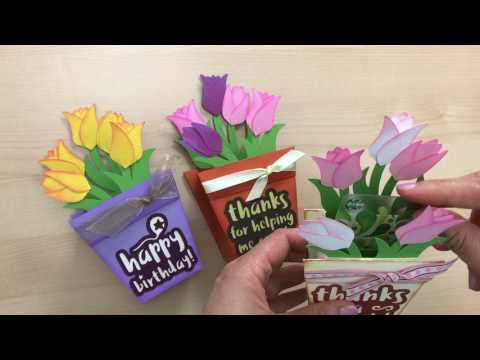 Flower Pot Box Card - Trailer