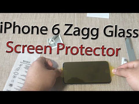 iPhone 6S: Zagg Glass Screen Protector | How To Put On