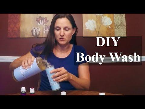 DIY Body Wash with Essential Oils