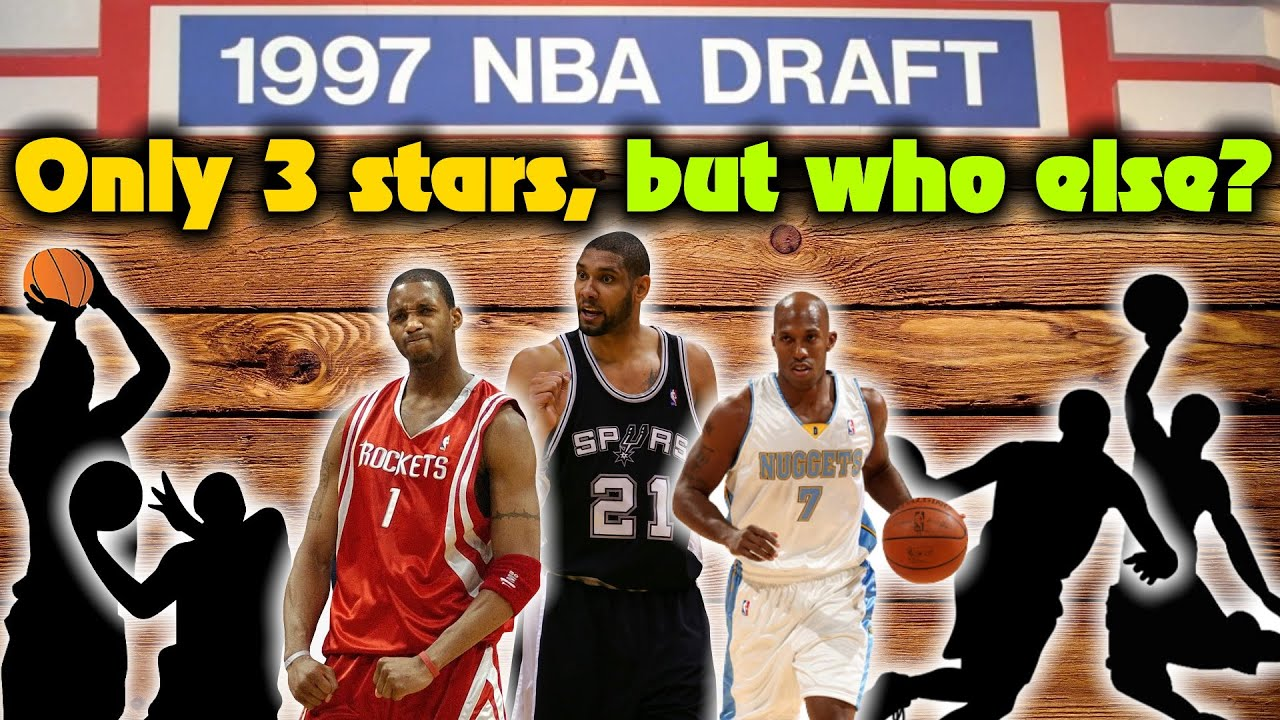 Meet The 1997 NBA Draft Class: Many Busts, But VERY Memorable