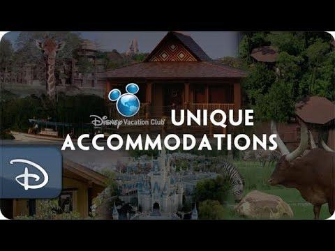 5 Unique Disney Vacation Club Accommodation Options