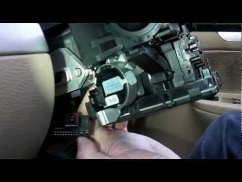 vw golf mk5 steering control module removal
