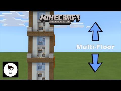Minecraft PE Multi-Floor Elevator V.2! (PE/Xbox/Windows10/Switch)