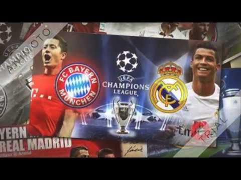 Bayern de Munich Vs Real Madrid   Champions League 1/2 Finale