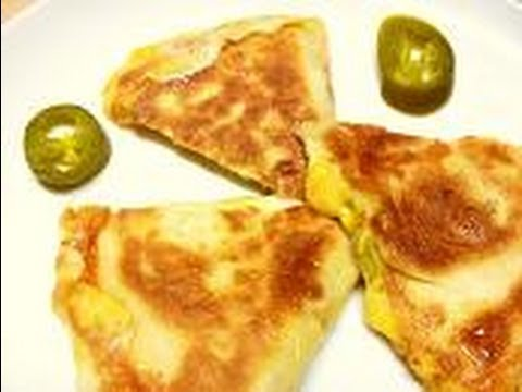 Jalapeno & Cheese Quesadilla