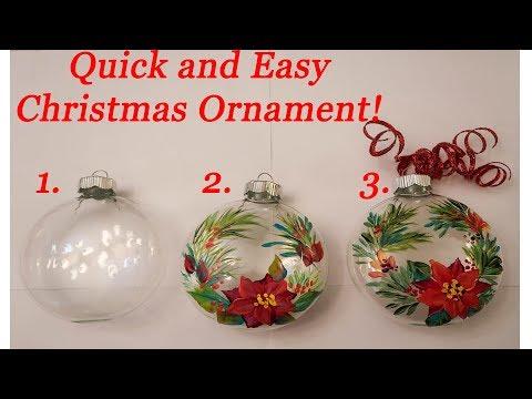 Make a Christmas Ornament! (DIY)