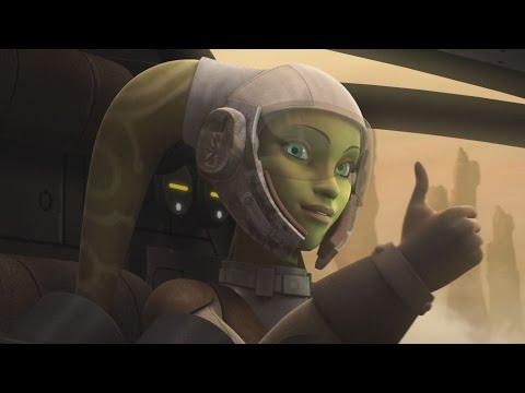 Star Wars Rebels - Hera testing the B-Wing prototype [1080p]