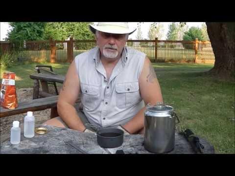 Alocs alcohol stove & Coffee