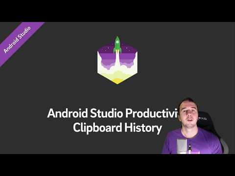 Recover from Lost Copy&Paste Code with Clipboard History (Android Studio)