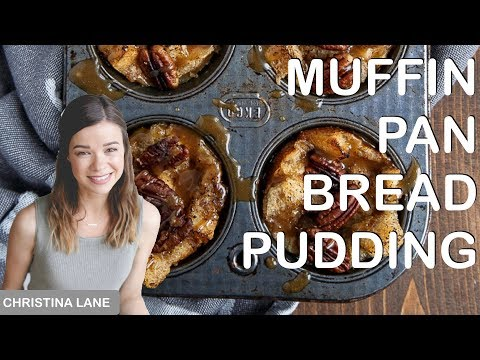 Mini Bread Puddings in a Muffin Pan