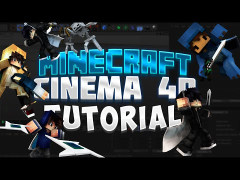 Minecraft Cinema 4D Posing And Extruding Tutorial [800 SUBSCRIBER SPECIAL!]