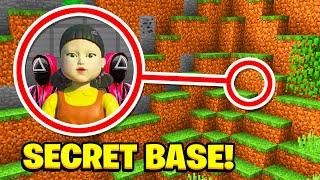 Minecraft : I Found The SQUID GAME SECRET BASE! (Ps3/Xbox360/PS4/XboxOne/PE/MCPE)