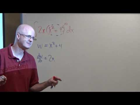 Calculus 2, Lecture 2A, Integration by Substitution Examples, Check with the Chain Rule