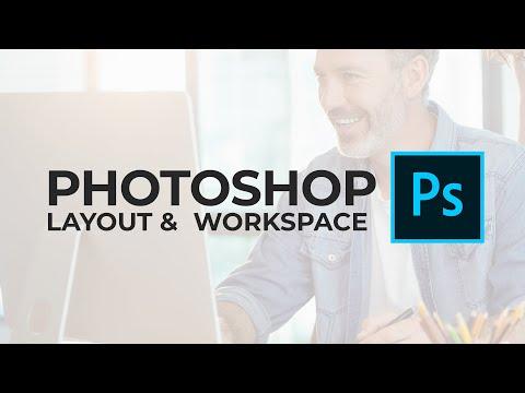 Understanding Photoshop Layout - Photoshop Beginner Tutorial