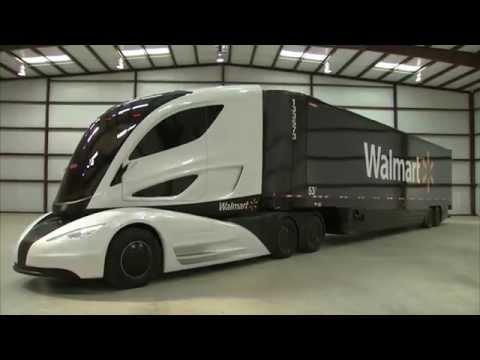 ‧ 沃爾瑪大膽嘗試:未來運貨卡車應該是這樣!