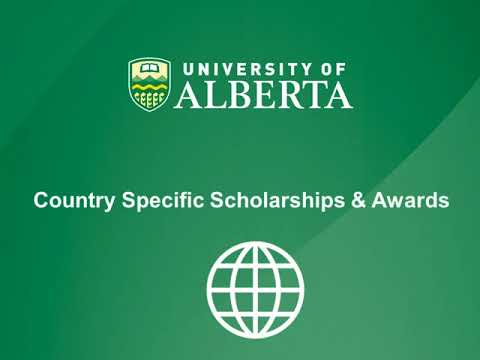 Scholarships for International Students at UAlberta!