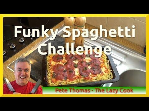 Funky Spaghetti Challenge - Pasta Pizza