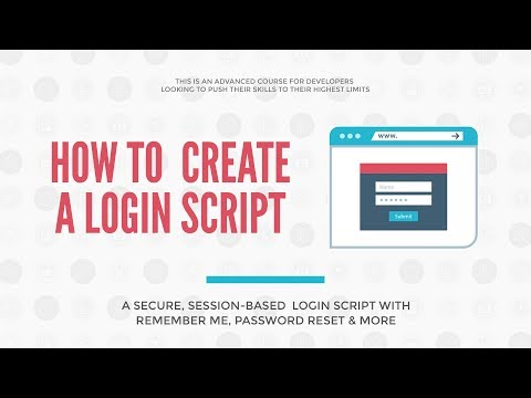 PHP Login and Registration - Full Course