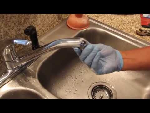 How to Replace Your Faucet Aerator