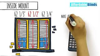 Affordable Blinds Tips On How Tor Measure For Window Treatments