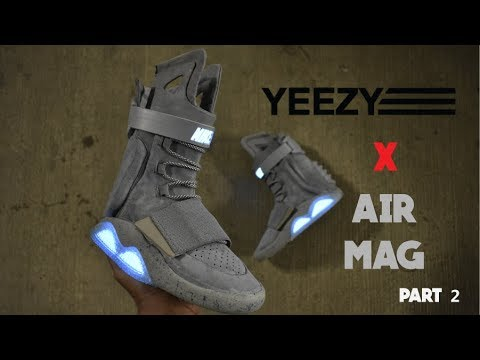 Yeezy Boost 750 Air Mags The best FULL custom EVER!