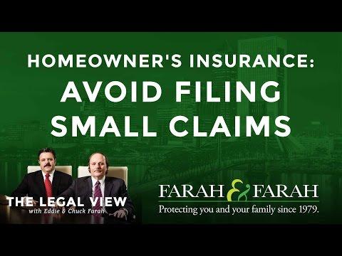 Florida Homeowner's Insurance: Avoid Filing Small Claims   Farah & Farah 855-797-9899