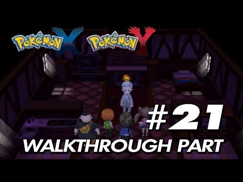 Pokemon X & Y - Walkthrough Part 21