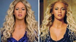 Madame Tussauds Adjust Beyonce