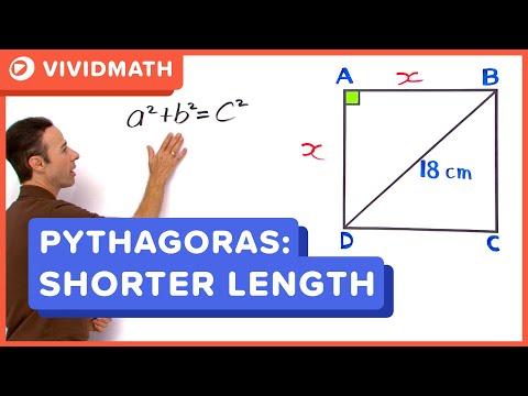 Pythagoras Thereom Formula - VividMaths.com