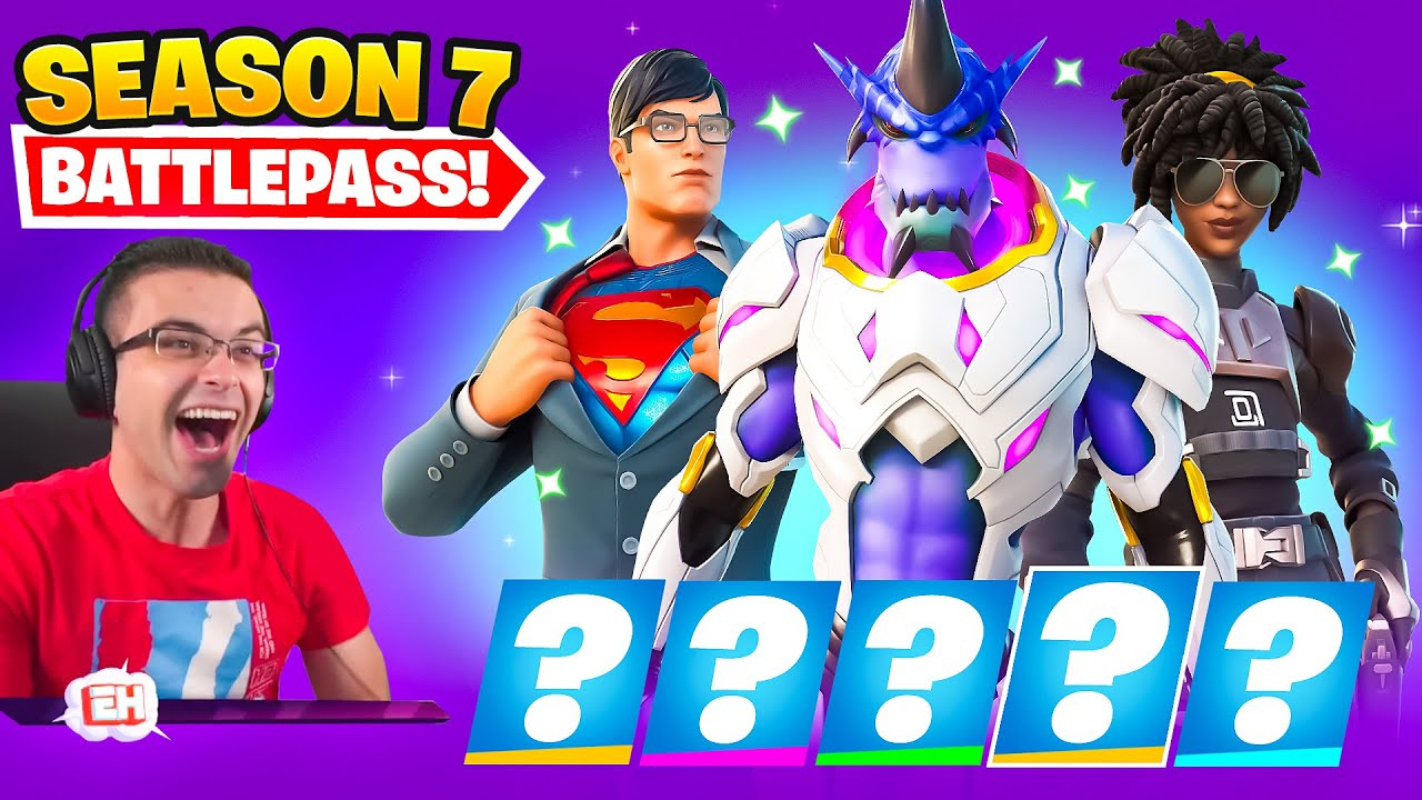 Nick Eh 30 reacts to SEASON 7 Intro and Battle Pass!
