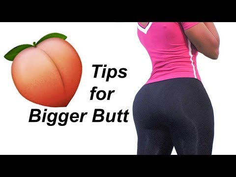 5 Tips to Get a Bigger Buttocks Fast in (2018) |how to grow a bigger butt