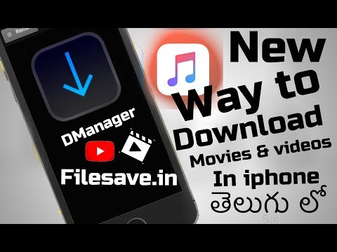 New Way  To Download New Movies To Your iPhone Camera Roll In Telugu (11.0 & 11.2.5 & 11.3) Edition.