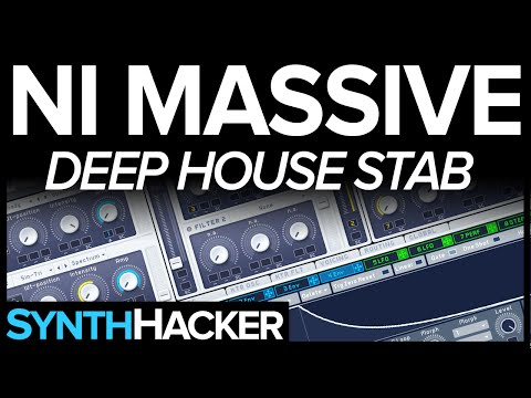 Massive Tutorial - Deep House Stab Chords