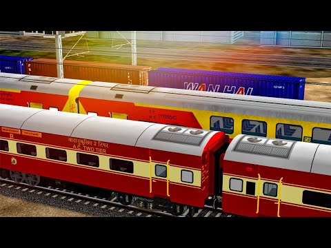 How To Drive Train In MSTS Open Rails || Tutorial For Driving