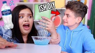Download Testing JSH DIY Water Slime Recipes in front of him..Exposed? Video