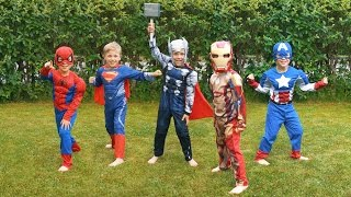 Super Hero Costumes: Spiderman, Batman, Superman, Ironman, and More