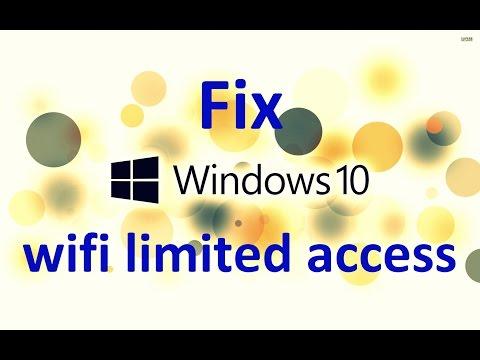 Windows 10 How to Fix wifi Limited Connectivity Problem!!! | ওয়াইফাই লিমিটেড সমস্যা সমাধান
