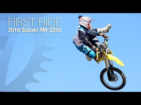 2016 Suzuki RM-Z250 First Ride - MotoUSA