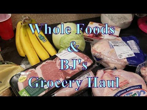 Whole Foods & BJ's GroceryHaul 02 18 2018