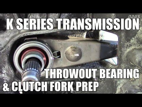K Series Transmission Throwout Bearing Installation DIY