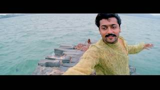 Kaaka Kaaka Movie Scenes  Title Credits  Uyirin Uyirae Song  Suriya Remembers Past  Jyothika