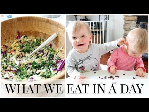 What We Eat in a Day (Twins and Myself) | Kendra Atkins