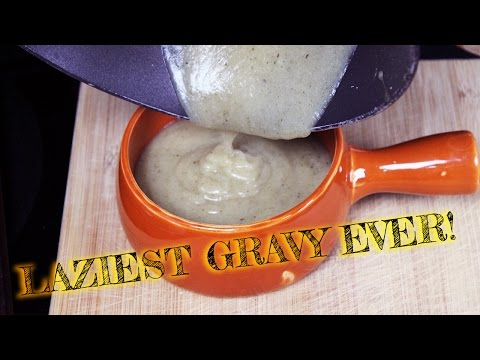 Vegan Lazy Gravy | Almost Instant!