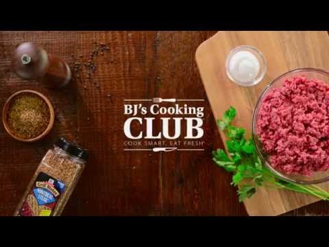 BJ's Cooking Club: McCormick Presents 5 Fast Tips for Cooking Ground Bison with Chef Glenn Lyman