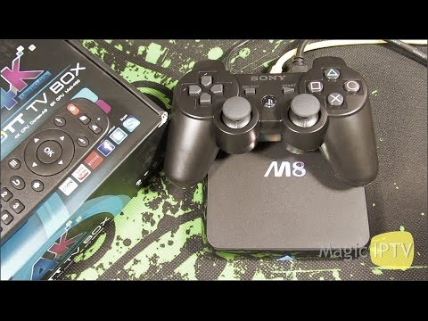 Android TV Box OTT M8 & Joy PS3   Gameplay   Asphalt 8: Airborne
